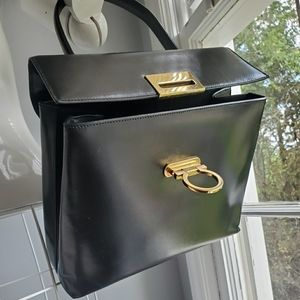 Salvatore Ferragamo  Gancini 2way Kelly satchel